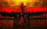 ROSSELLA BATTAGLINI: La città del male 125x75, Melina Scalise