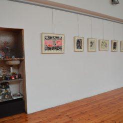 Spazio Tadini angolo ex studio di Emilio Tadini