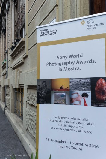 Inaugurazione Sony World Photography Awards