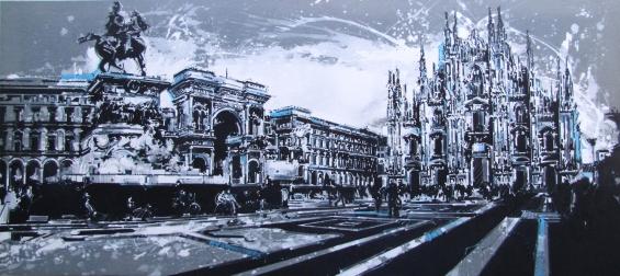 PIAZZA DUOMO MILANO - BN (80x180)